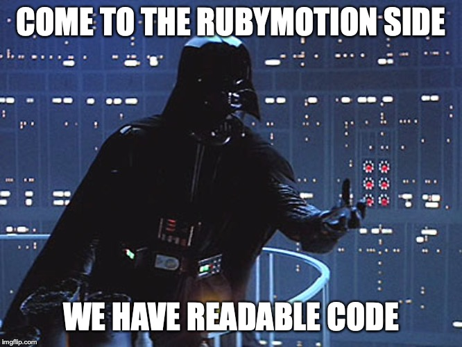 Why RubyMotion